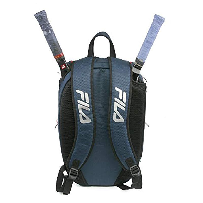 62a30ece2b Lyst - Fila Ultimate Tennis With Shoe Pocket in Blue for Men - Save 4%