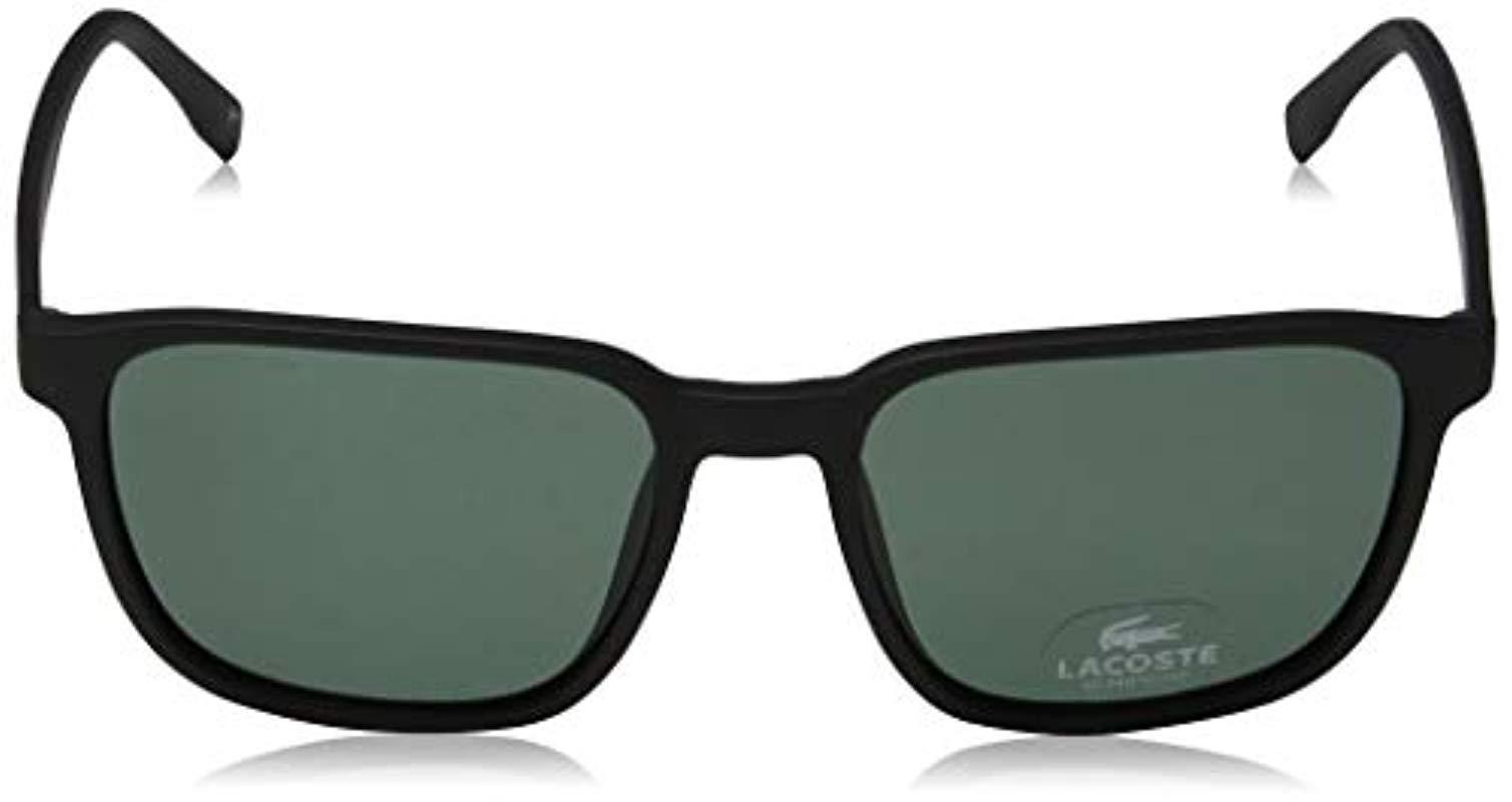 86ba85f4b6f Lacoste - Multicolor L162s Aviator Sunglasses for Men - Lyst. View  fullscreen