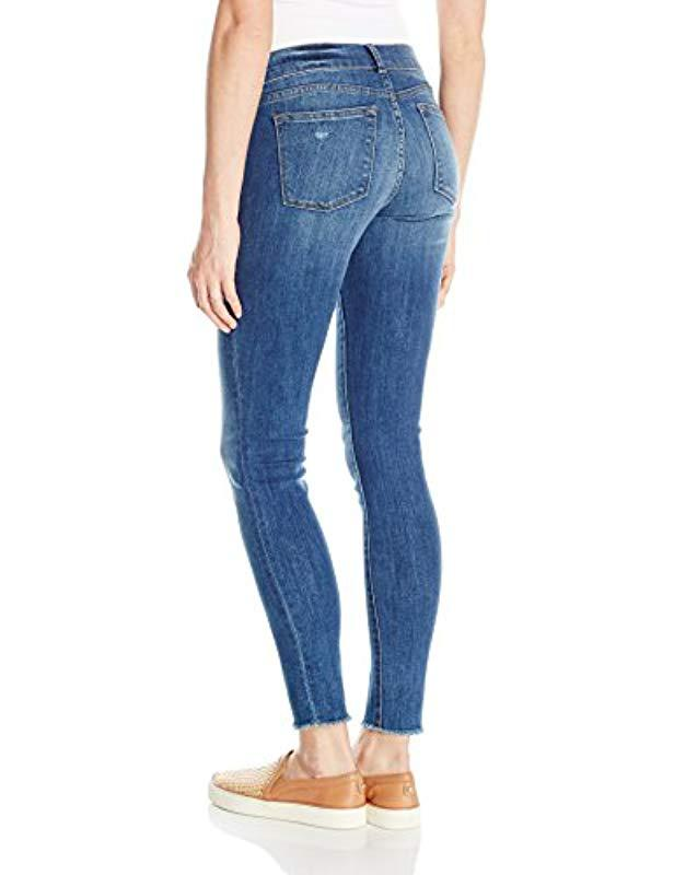 987592d0c6c25 Lyst - DL1961 Plus Size Maternity Emma Power Legging Jeans In Strobe in Blue