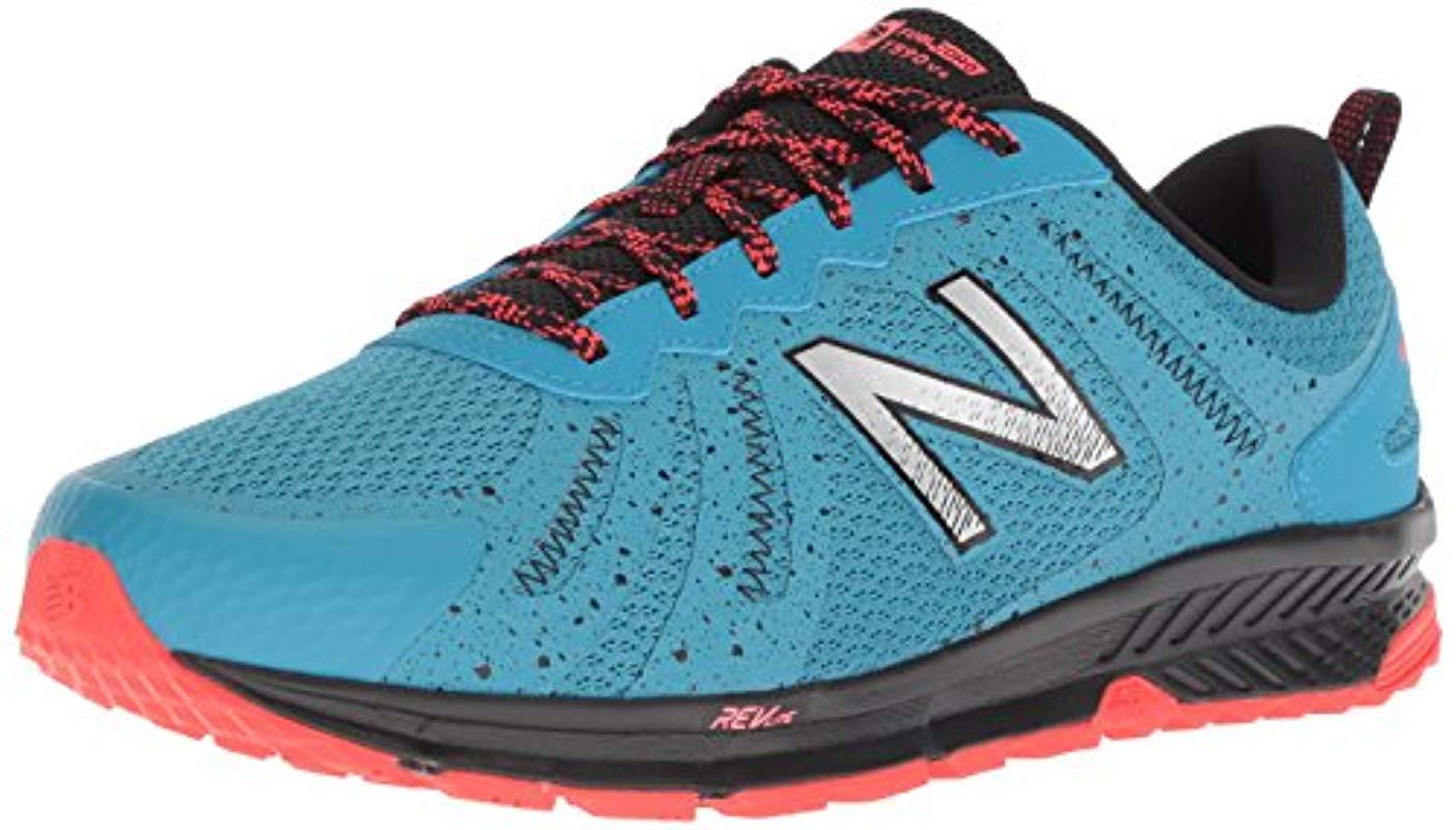 online store b71cf aeada New Balance - Blue 590v4 Fuelcore Trail Running Shoe for Men - Lyst. View  fullscreen