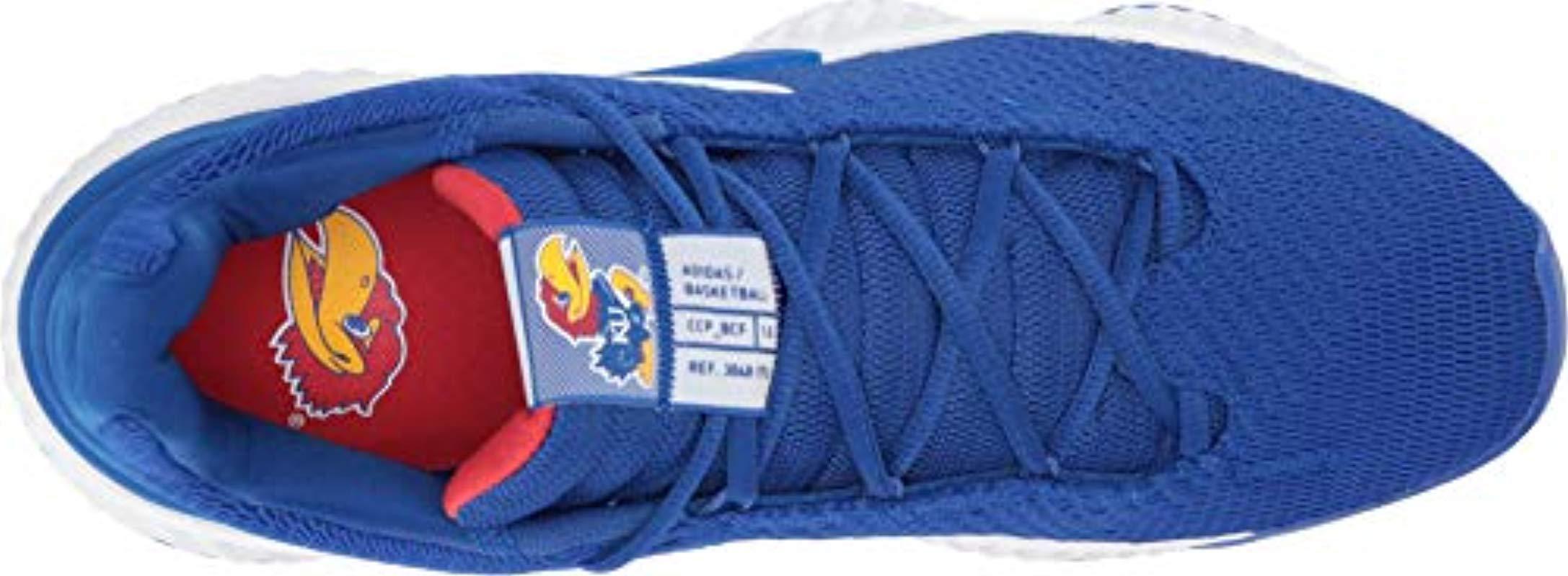 f3fe5c07b38fa Adidas Originals - Blue Pro Bounce 2018 Low Basketball Shoe for Men - Lyst.  View fullscreen