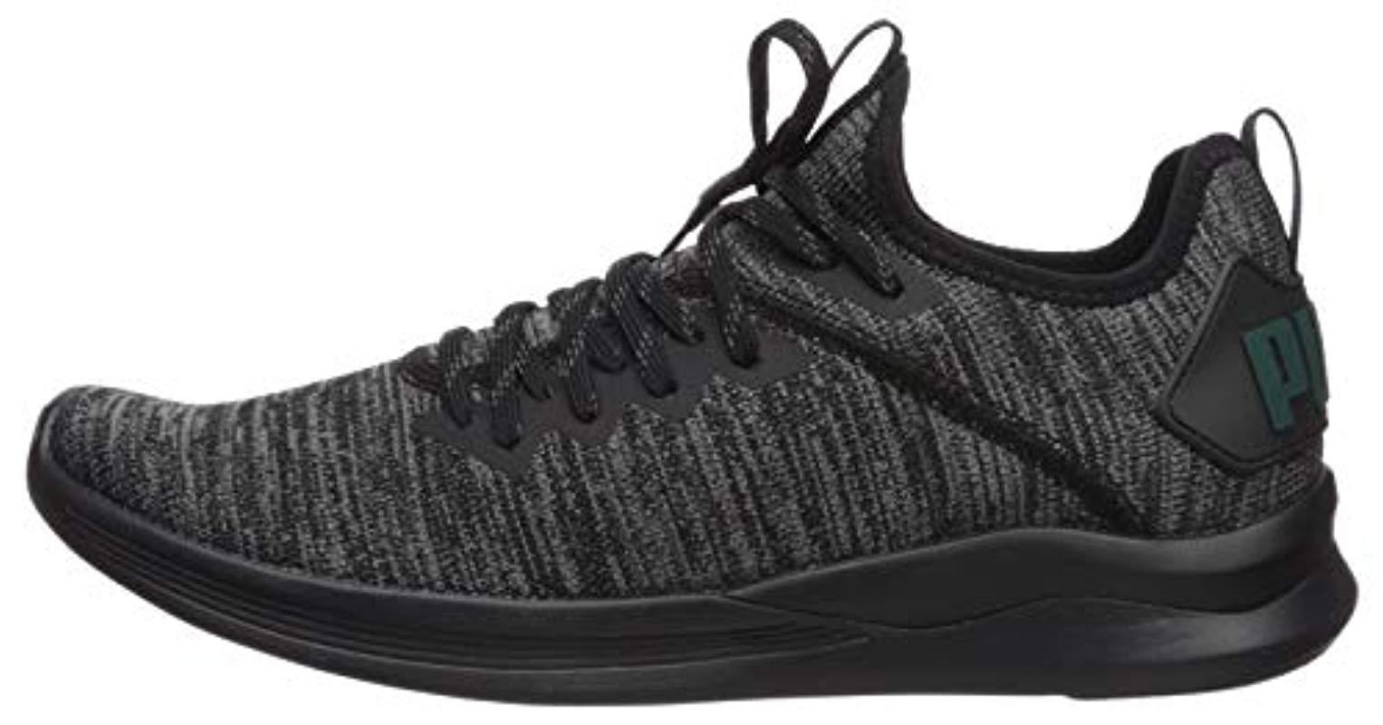 size 40 5e5f7 02616 PUMA Ignite Flash Evoknit Sneaker in Black for Men - Lyst