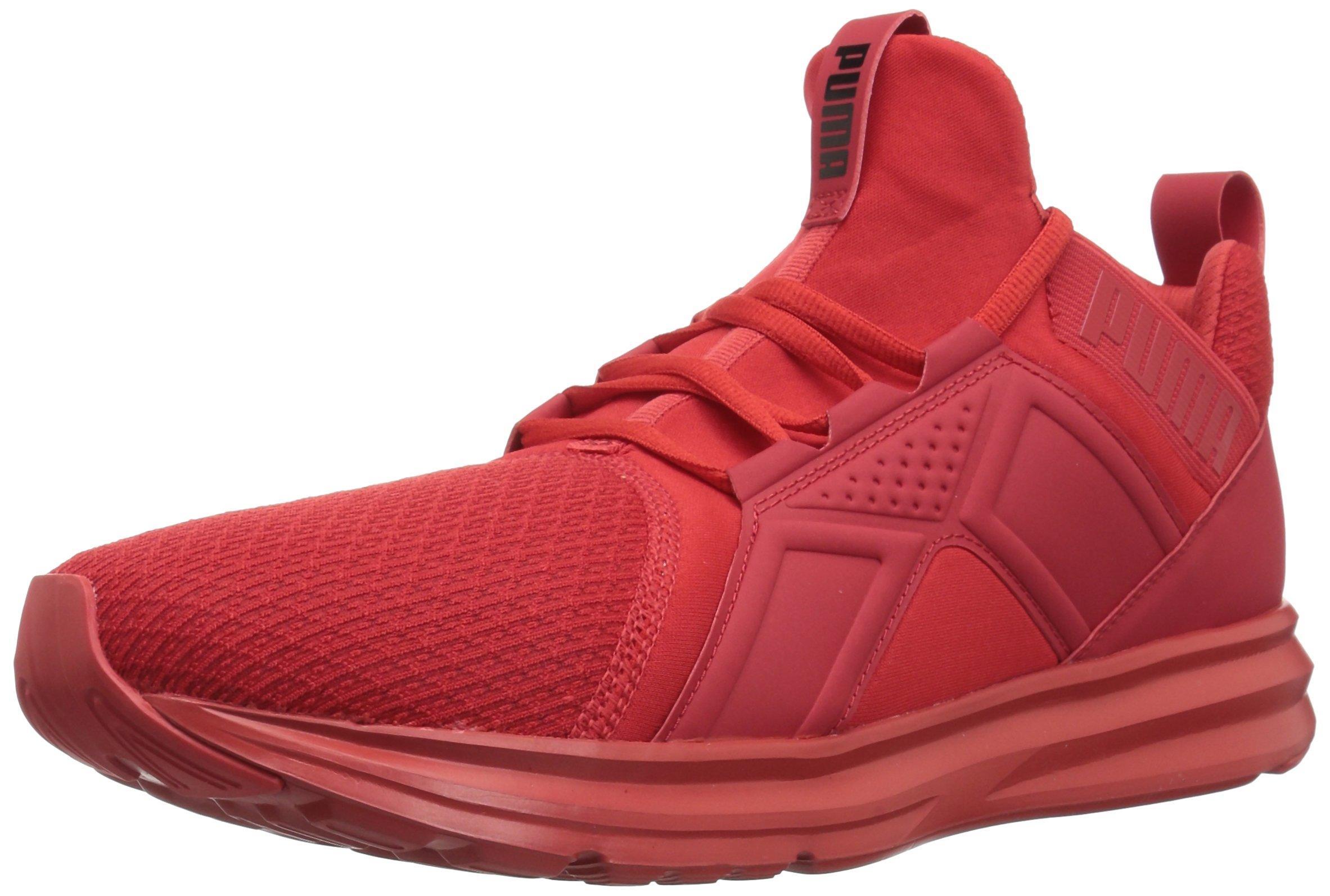 PUMA Rubber Enzo Wide Sneaker in Red