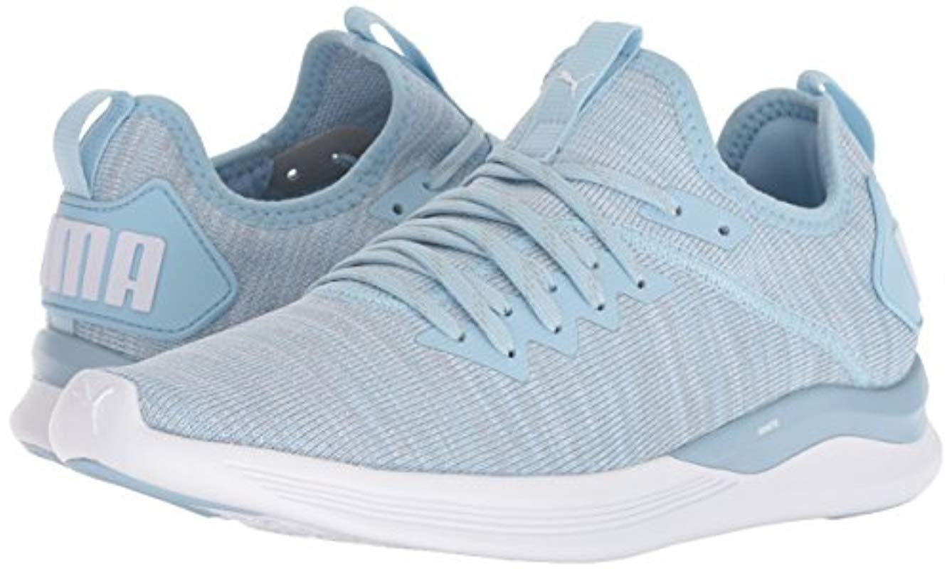 buy online cd6e9 2d8c2 Women's Blue Ignite Flash Evoknit Sneaker