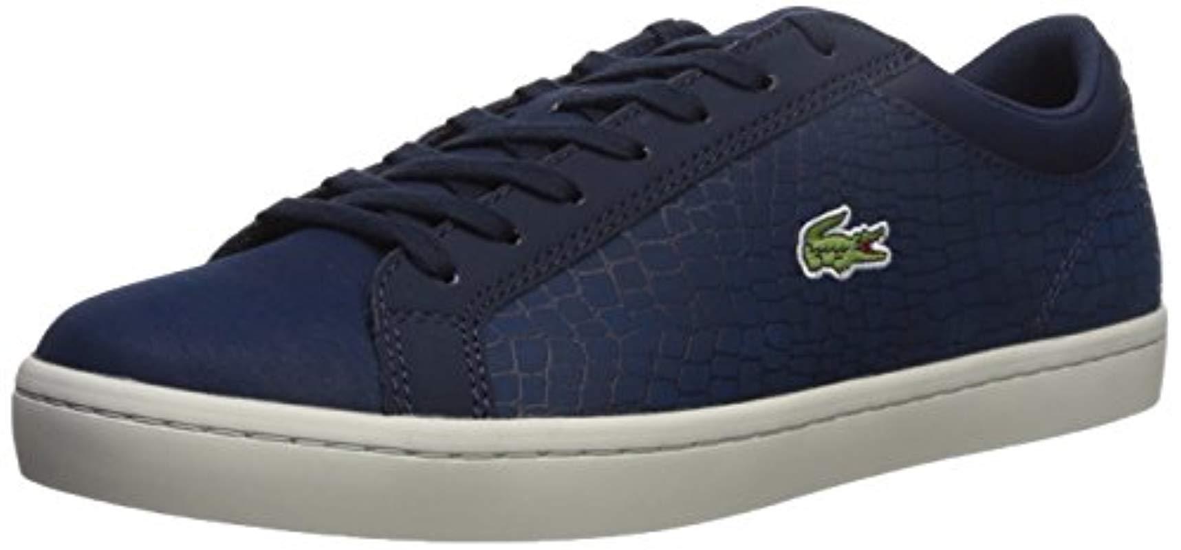 860700133fb6d Lyst - Lacoste Straightset Sp 417 1 Sneaker in Blue for Men
