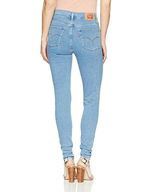 a82d61a397c Levi s 720 High Rise Super Skinny Jeans in Blue - Save 20% - Lyst