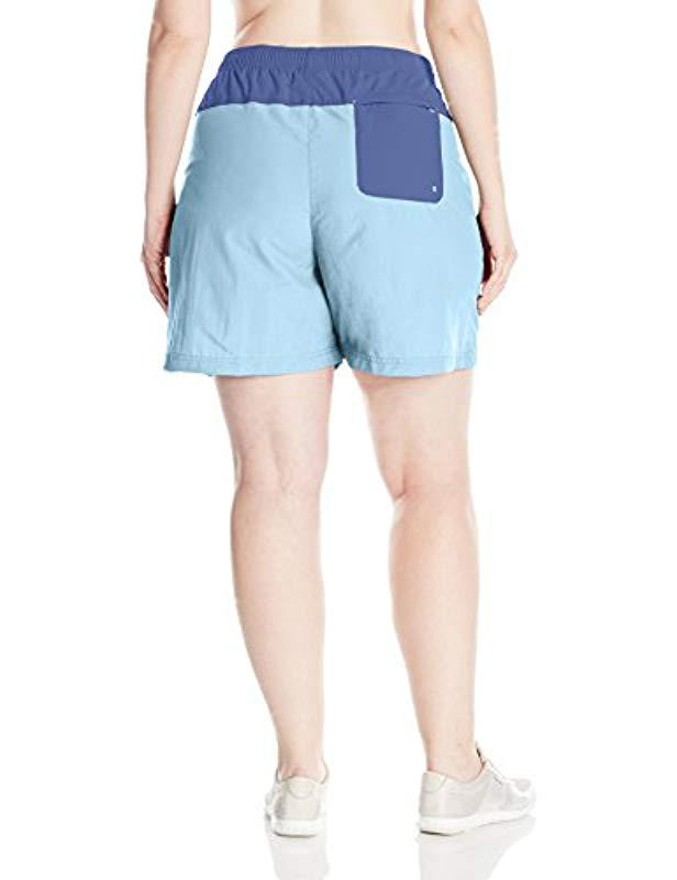 7545189bf6 Lyst - Columbia Sandy River Color Plus Size Blocked Short, in Blue - Save  34%