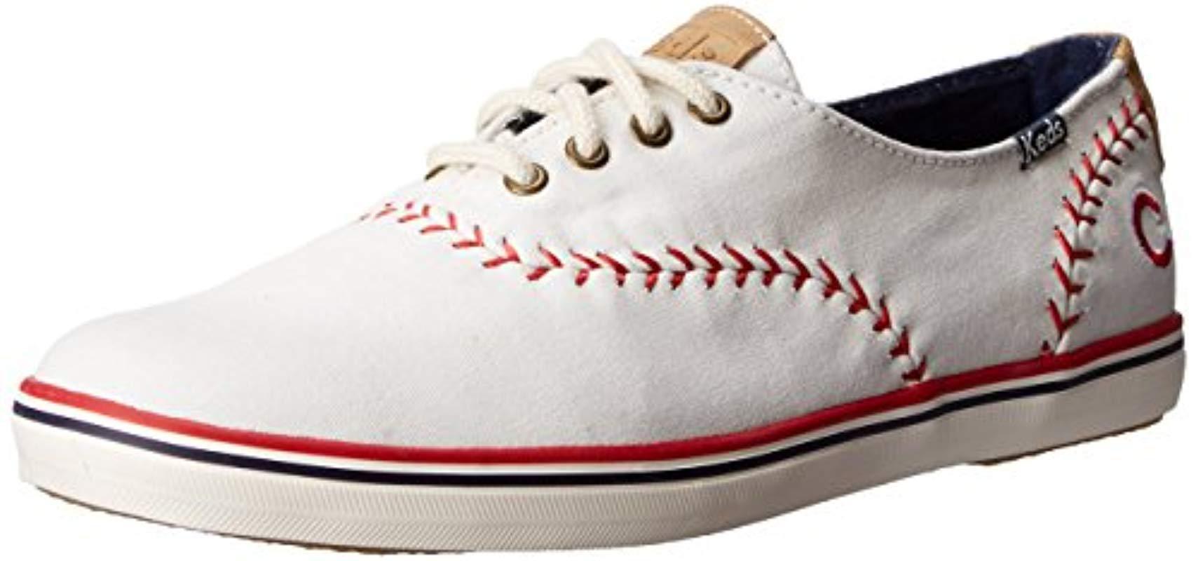 bf74ccb7cebff Keds. Women s Champion Mlb Pennant Baseball Fashion Sneaker
