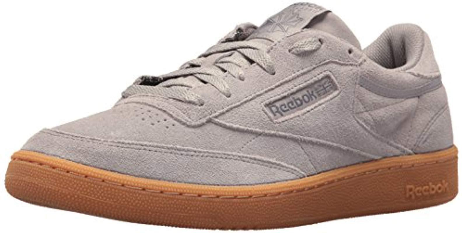 d916daf9364 Lyst - Reebok Club C 85 Gs Sneaker in Gray for Men - Save 26%