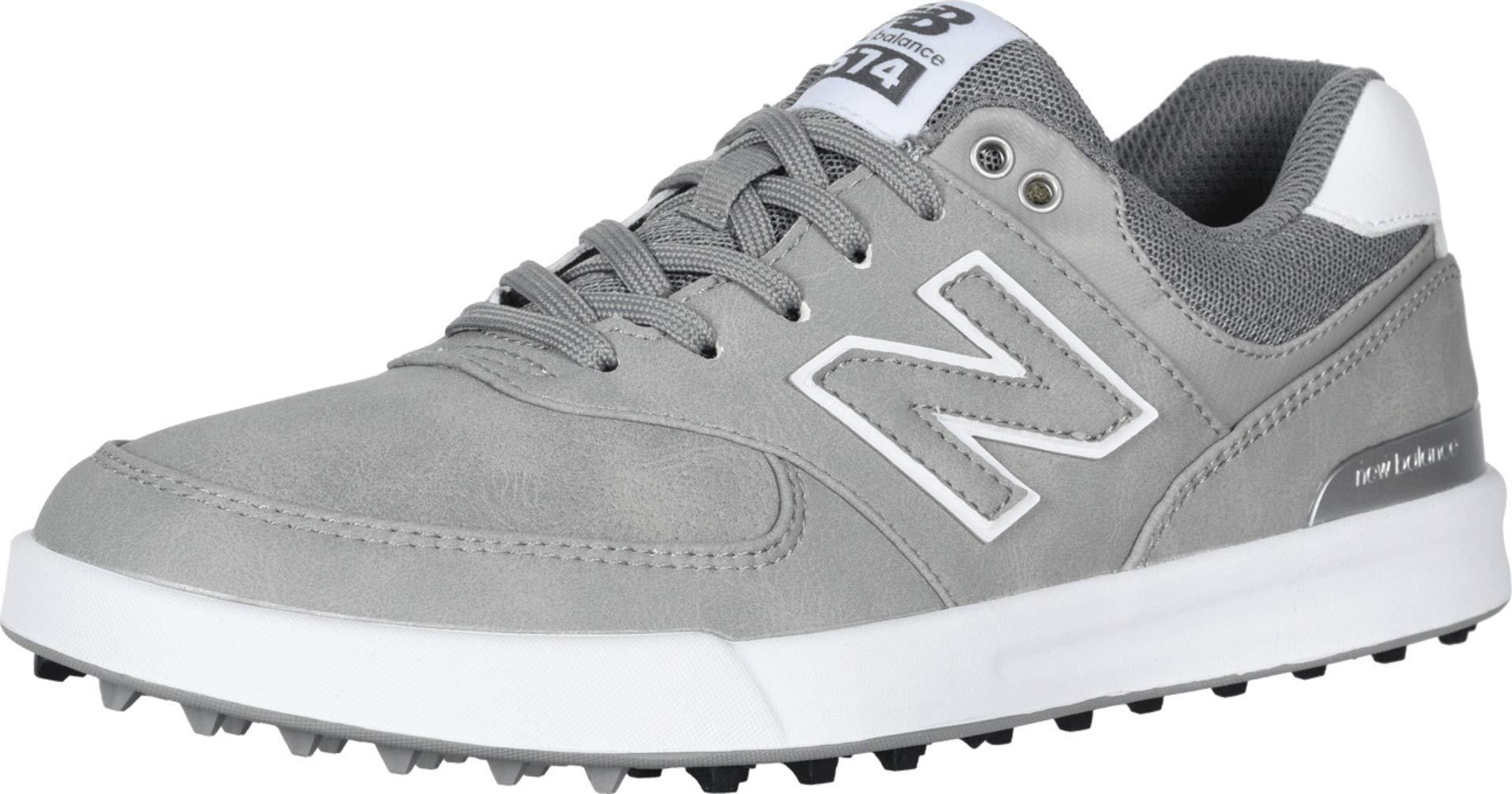 New Balance Leather 574 Greens Golf Shoes in Grey (Gray ...