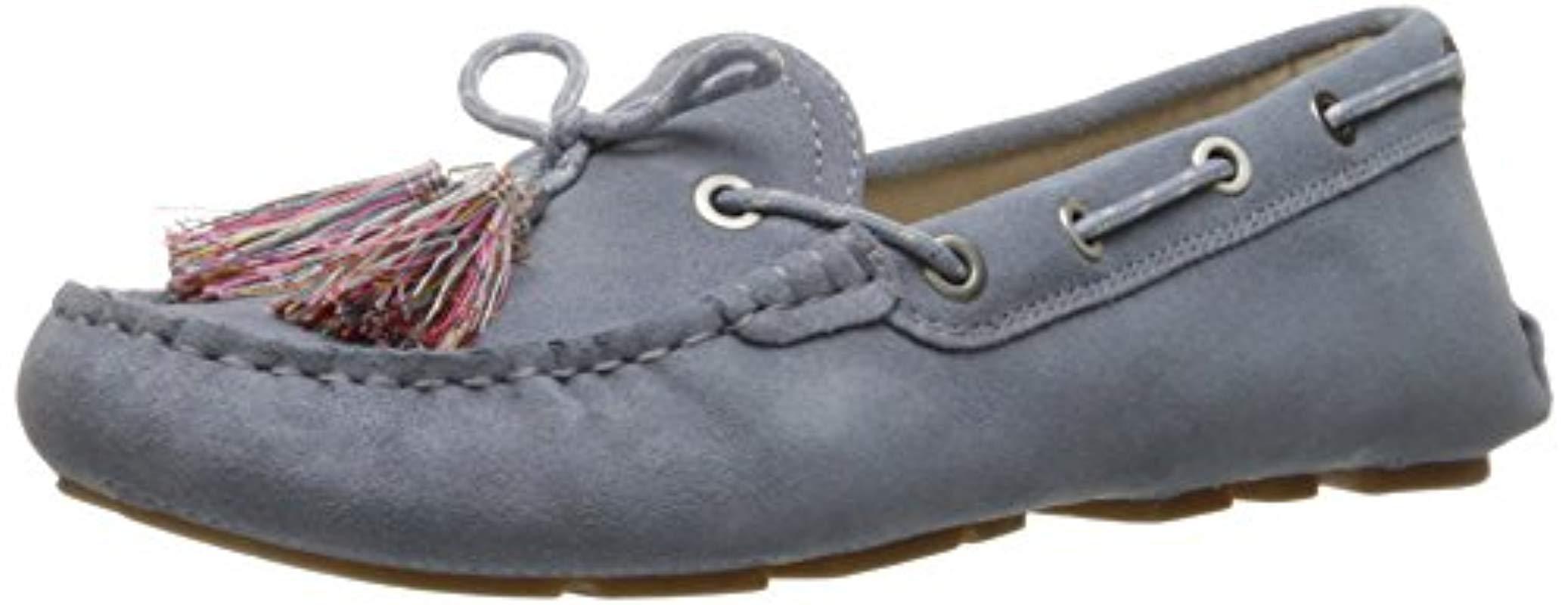 fcc674d4f Lyst - Sam Edelman Fantine Boat Shoe in Blue - Save 38.0%