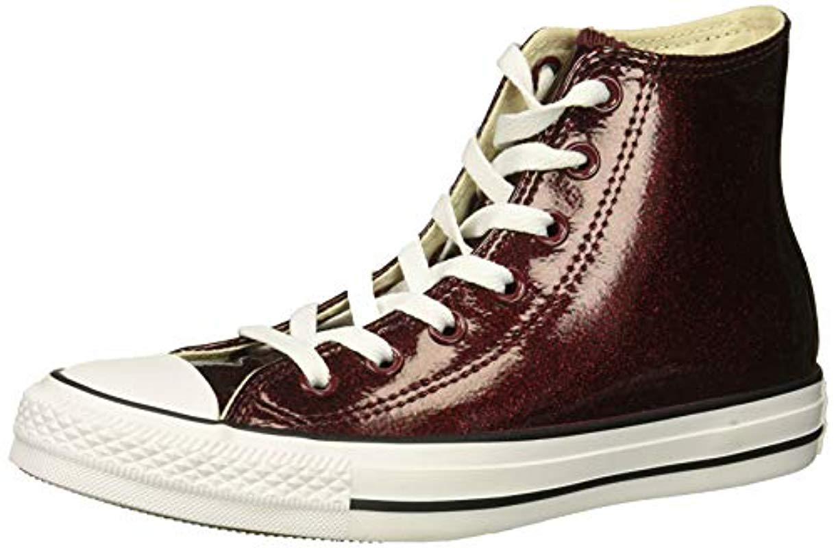 198e76cddfe107 Converse. Women s Chuck Taylor All Star Glitter Canvas High Top Sneaker