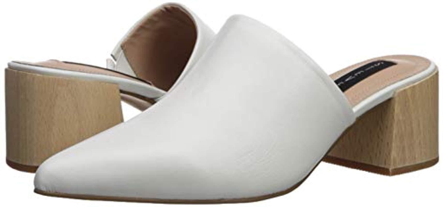 3a343d2c8c2 Women's White Florin Mule