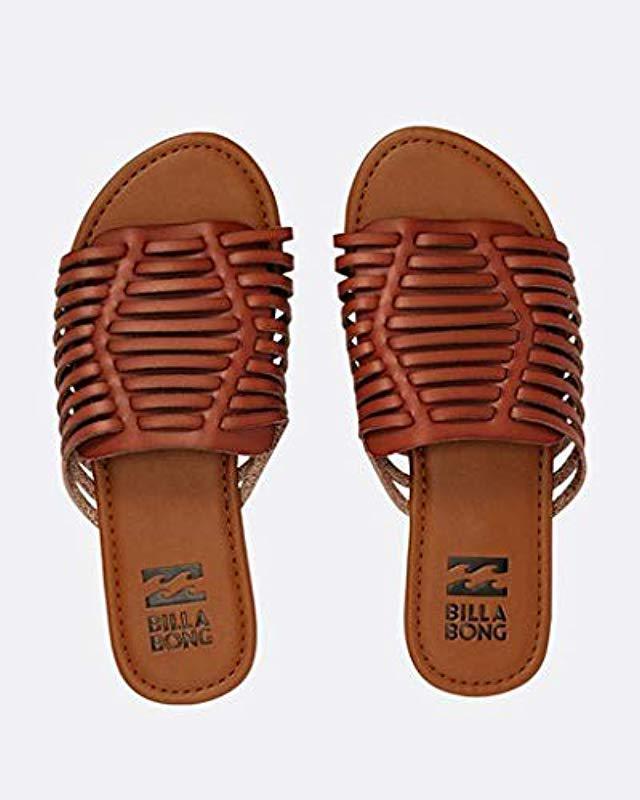 668187c5b7cb Lyst - Billabong Tread Lightly Sandal in Brown - Save 56.41025641025641%