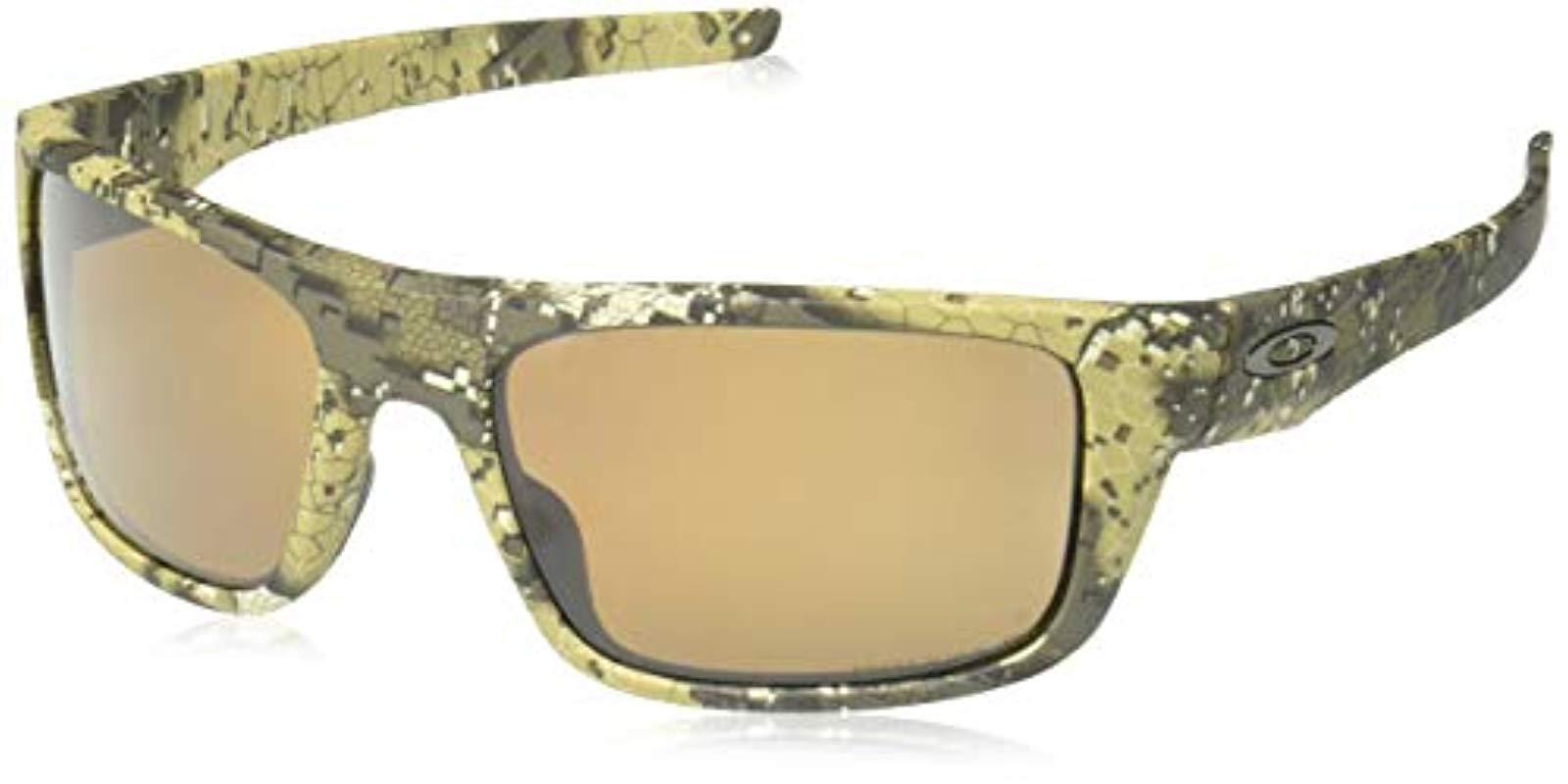 d3000ae35f5 ... authentic lyst oakley drop point polarized iridium rectangular  sunglasses 39da2 834be