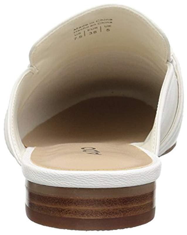 059d6156181 Lyst - ALDO Vergemoli Mule in White - Save 51%