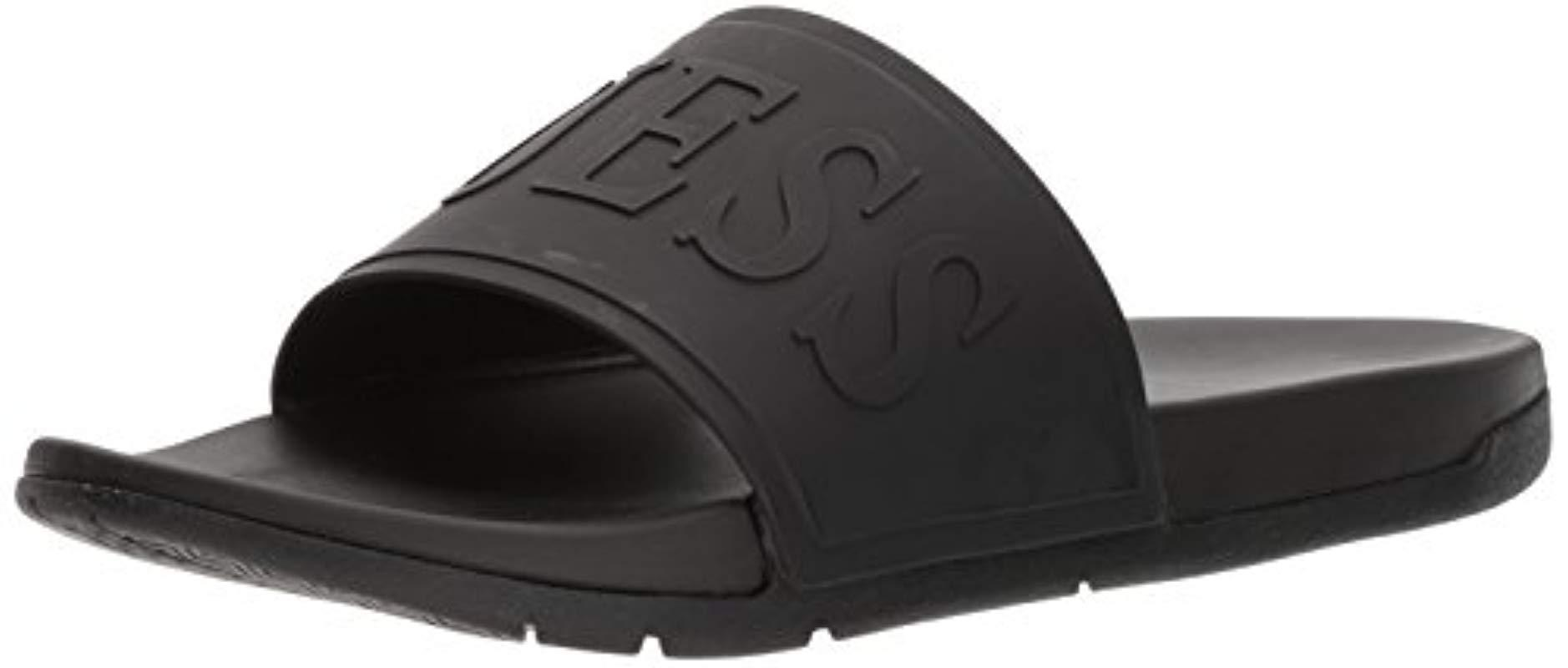 aaa7180aba55fe Lyst - Guess Delfino Sandal in Black for Men - Save 52%
