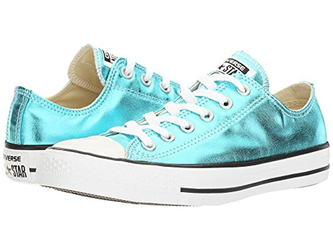 57b87e74d1f2 Lyst - Converse Chuck Taylor All Star Seasonal Colors Ox in Blue for Men
