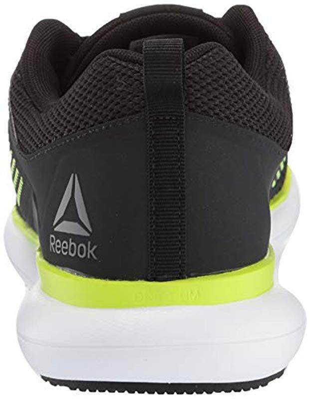 5478e5d65923a7 Lyst - Reebok Driftium Ride Running Shoe in Black for Men