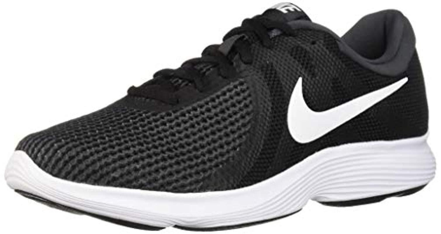 f8108cd3 Nike Revolution 4 Running Shoe in Black for Men - Lyst