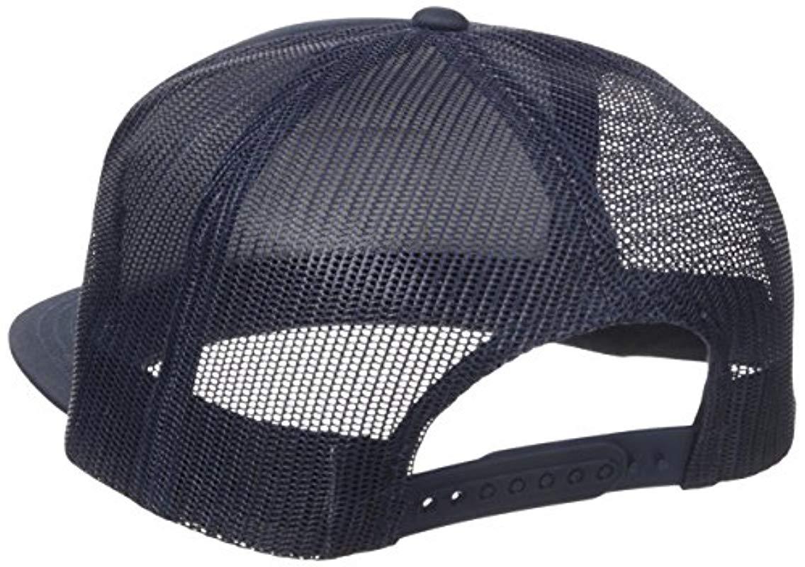 Brixton - Blue Grade High Profile Adjustable Mesh Hat for Men - Lyst. View  fullscreen 64b17d24bc73