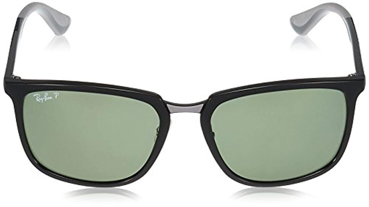 9f99238e7e5 Ray-Ban - Black Rb4303 Sunglasses for Men - Lyst. View fullscreen