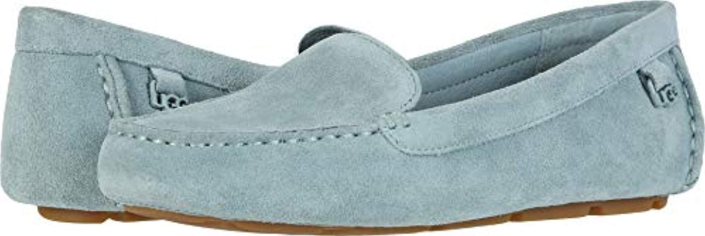 6dbafff0d04 Lyst - Ugg Flores Driving Style Loafer in Blue
