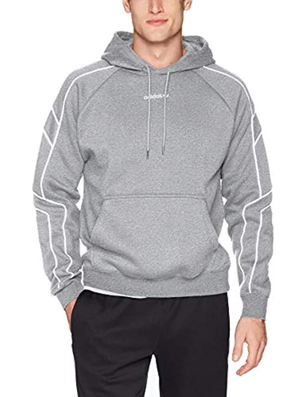 Men's Blue Eqt Outline Hoodie