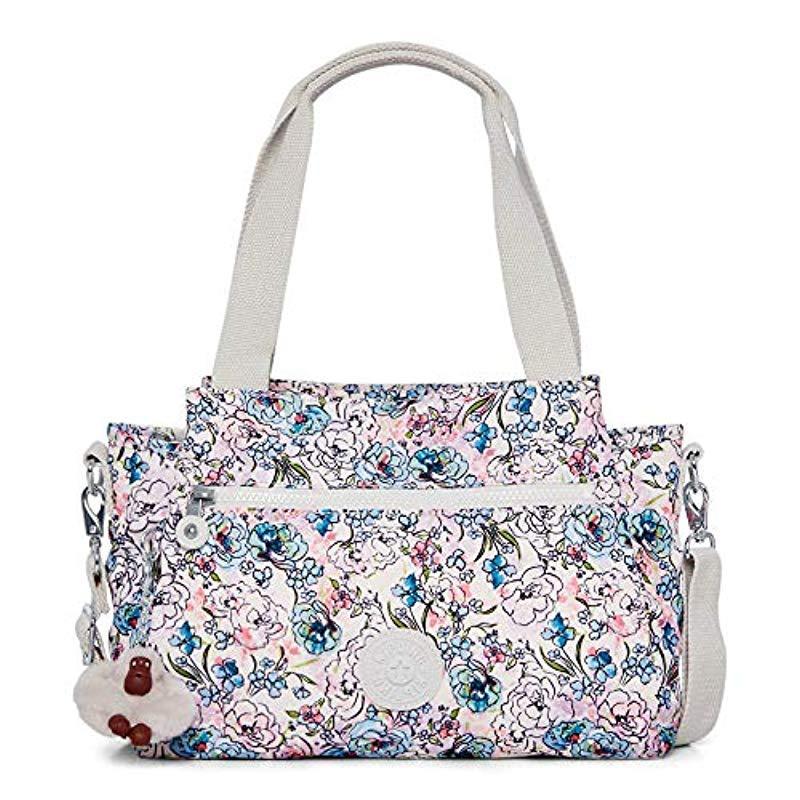 ca5f090118 Kipling Womens Elysia Solid Convertible Crossbody Bag in Blue - Lyst