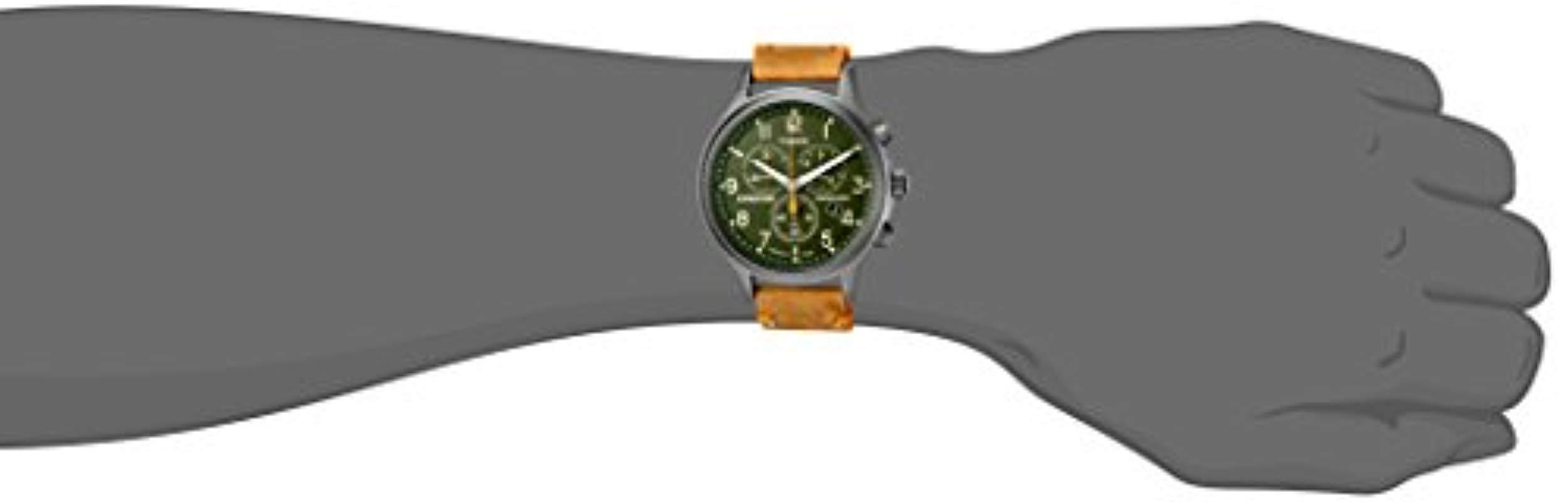 4439ed3ca Timex - Green Expedition Scout Chronograph Watch for Men - Lyst. View  fullscreen