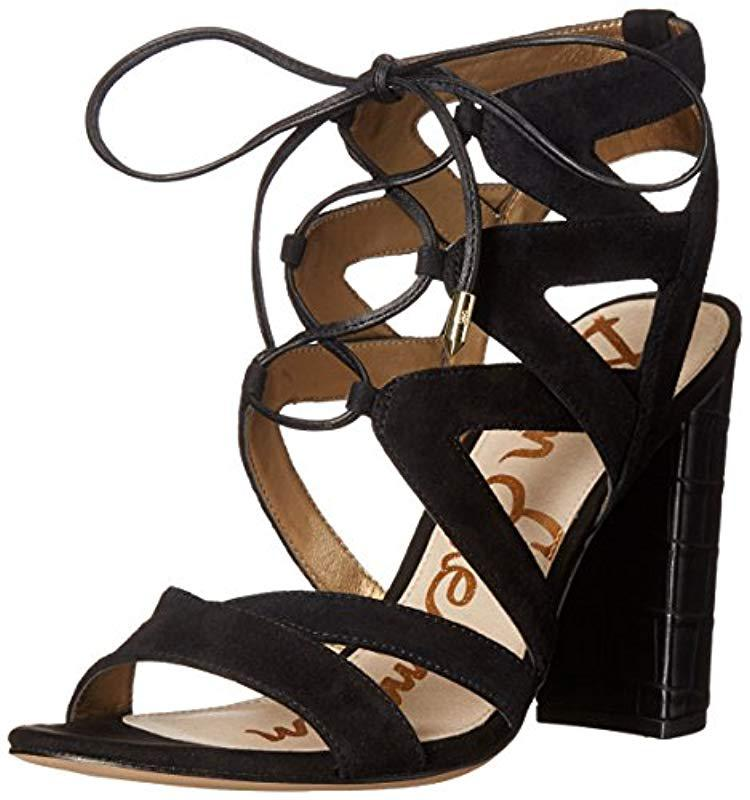 c72600bac2a9 Lyst - Sam Edelman Yardley Dress Sandal in Black - Save ...