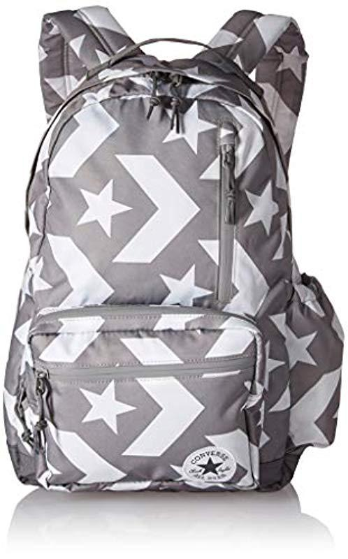 Converse. Women s Gray All Star Go Backpack Graphic Prints 2f914127d7c42