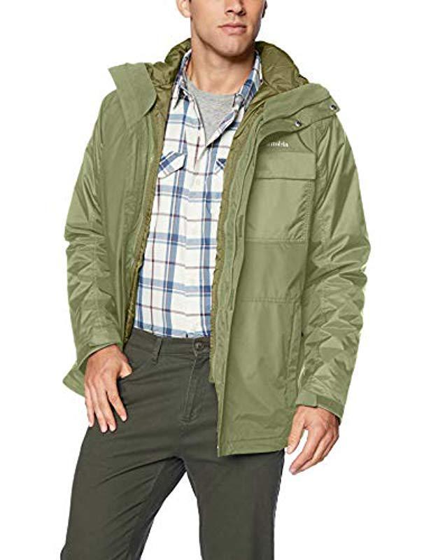 966863528 Men's Green Ten Falls Interchange Jacket