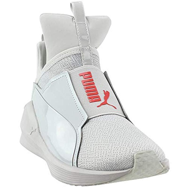3b53e1cd0b6 Lyst - PUMA Fierce Varsity Knit Wn Sneaker in Gray