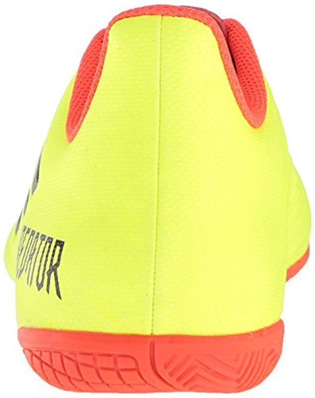 77c4fbee19d adidas Predator Tango 18.4 Indoor Soccer Shoe in Yellow for Men - Save 16%  - Lyst