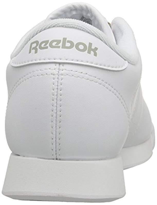 456b5004bb9fa Lyst - Reebok Princess Sneaker in White - Save 9%