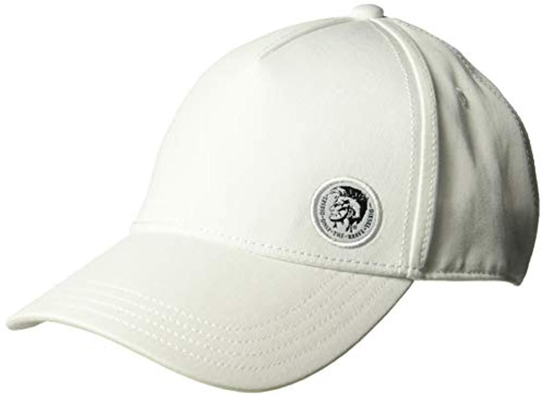 6f91a9a4e5b Lyst - DIESEL Cindi-max Hat in White for Men