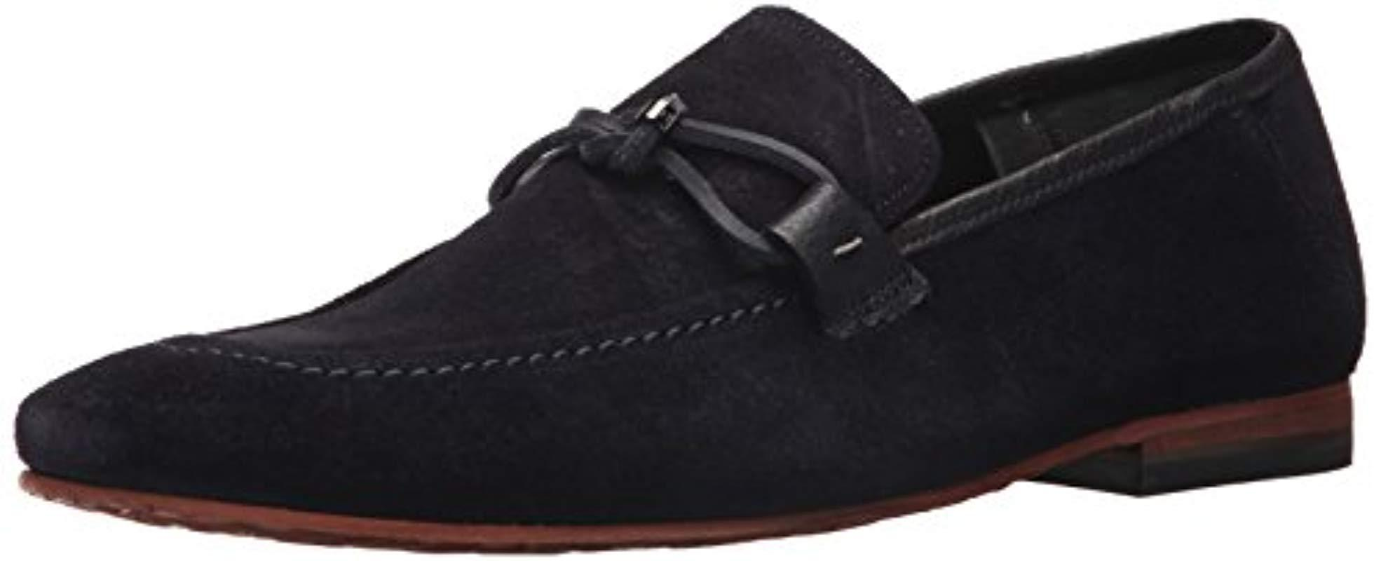 d094f2fa4 Lyst - Ted Baker Hoppken Loafer in Blue for Men - Save 43%