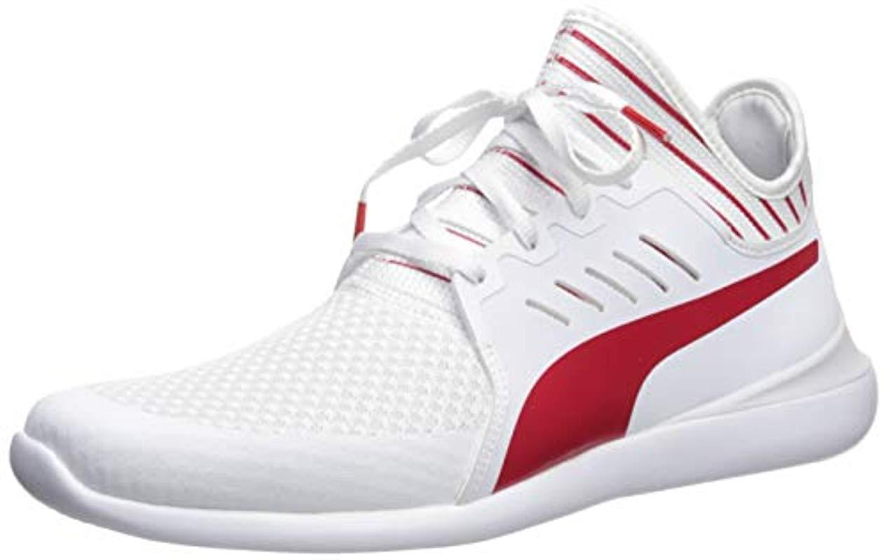 42d2a88b9cf5cb Lyst - PUMA Scuderia Ferrari Evo Cat Mace Sneakers in White for Men ...