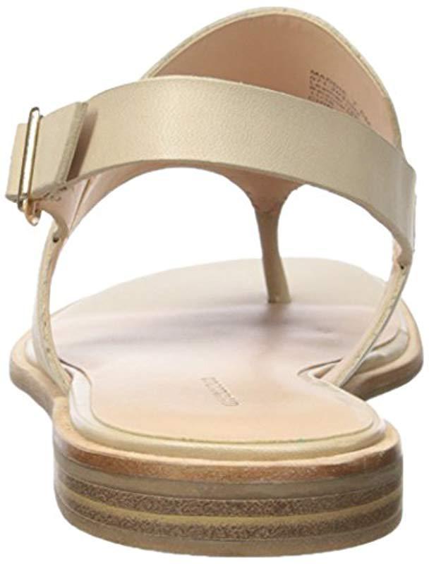 Women's Sandal Flat Maddie Flat Natural Natural Sandal Women's Maddie Tl3FK1Jc