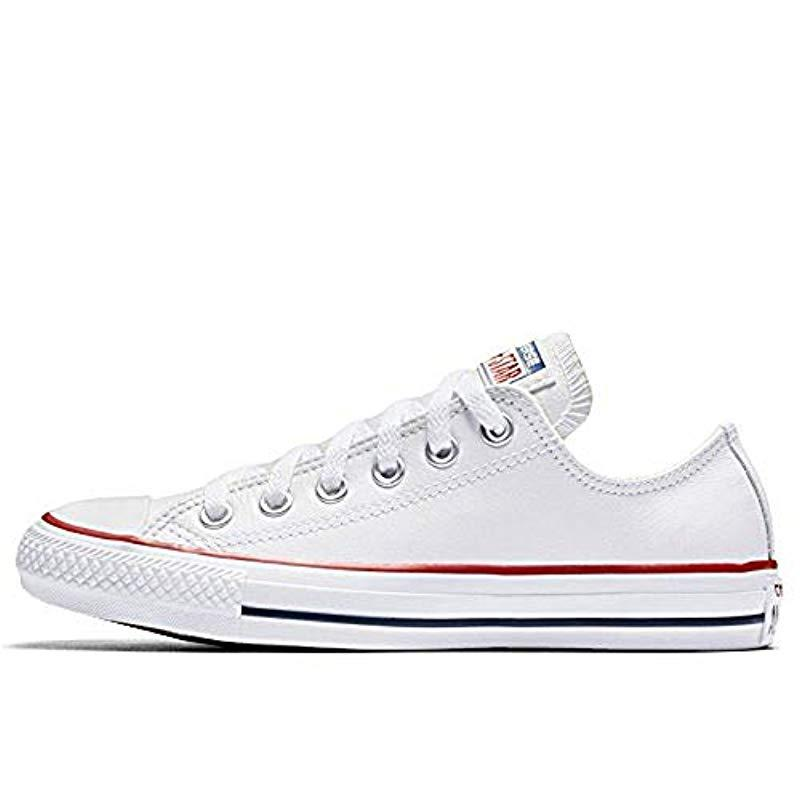 promo code details for where to buy Unisex Chuck Taylor All Star Ox Low Top Classic White Open Sneakers
