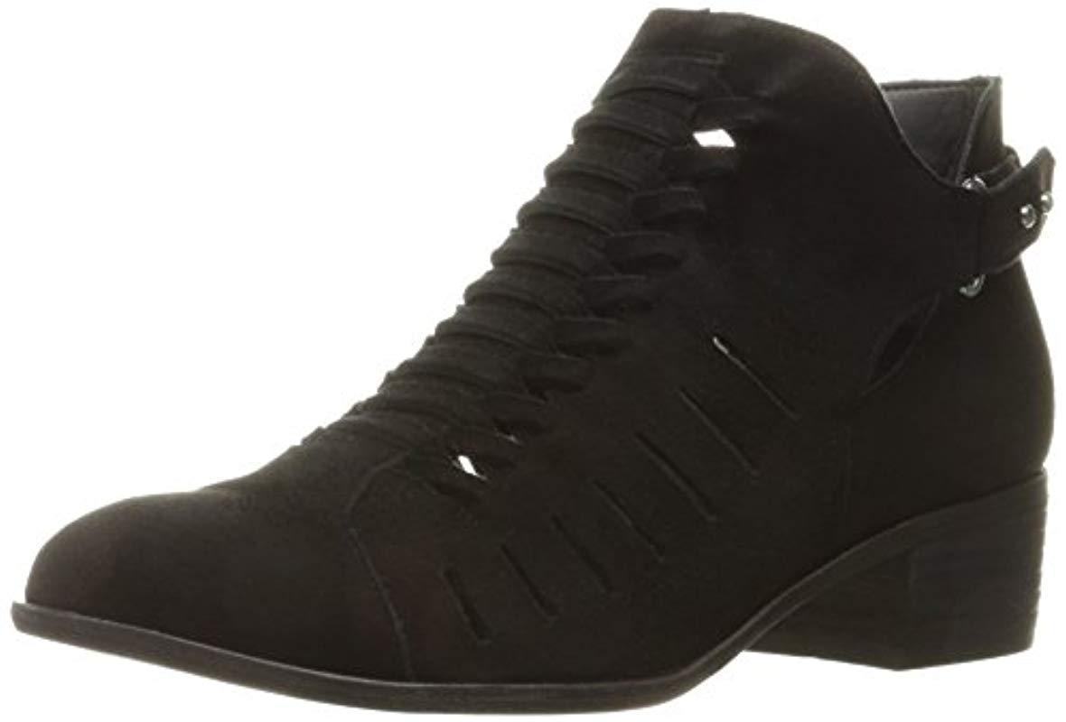 d874b906afdc Lyst - Sam Edelman Pierson Ankle Bootie in Black
