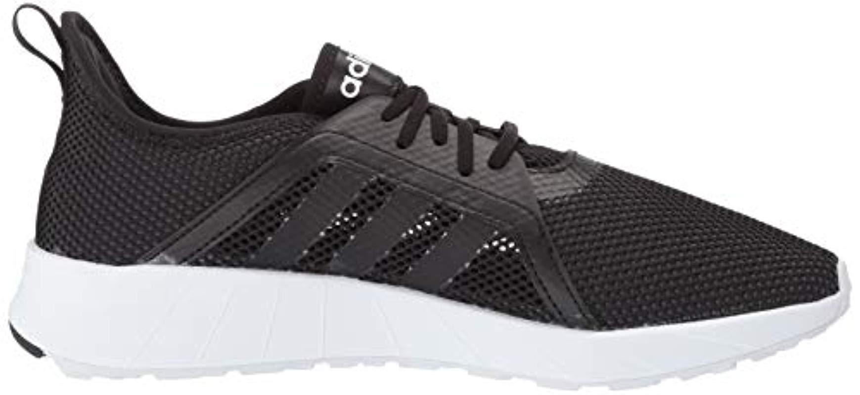 adidas Lace Questar Sumr in Black/Black
