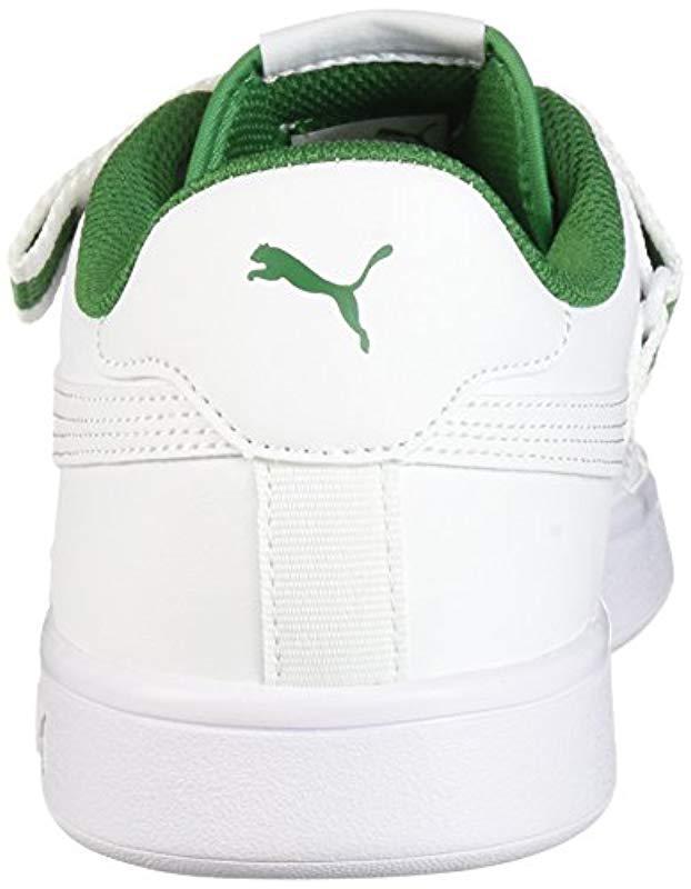 d6fc5d5ddc3db Men's White Smash V2 V Fresh Sneaker