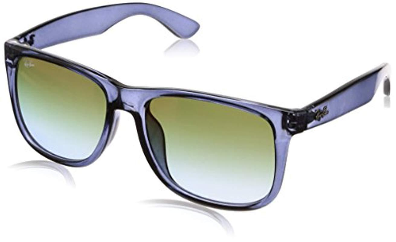 1959e9da53 Lyst - Ray-Ban Justin Rb 4165f Sunglasses in Blue for Men - Save ...