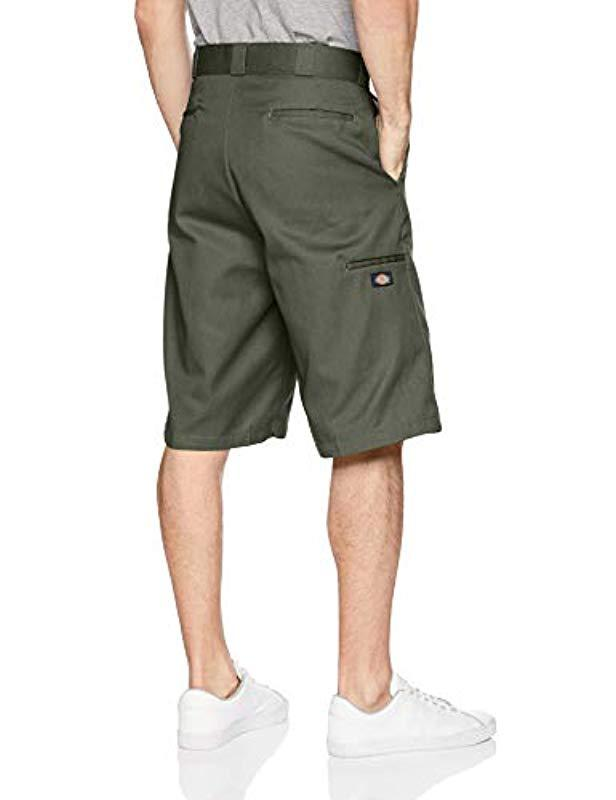 751a1b6d8b7 Dickies 13 Inch Loose Fit Multi-pocket Work Short in Green for Men - Save  45% - Lyst