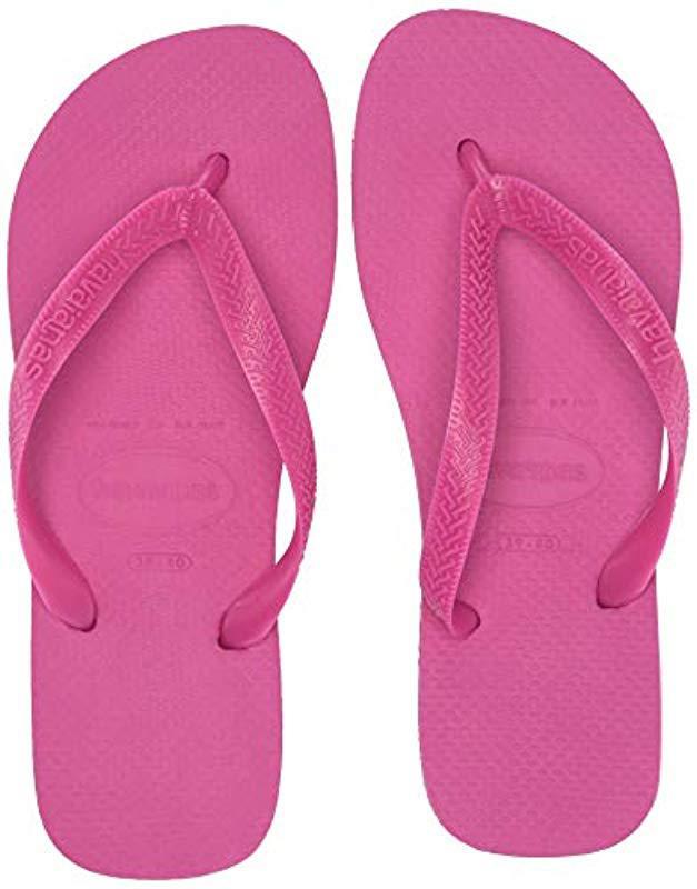 8da43508e Havaianas - Pink Top Flip Flop Sandal - Lyst. View fullscreen