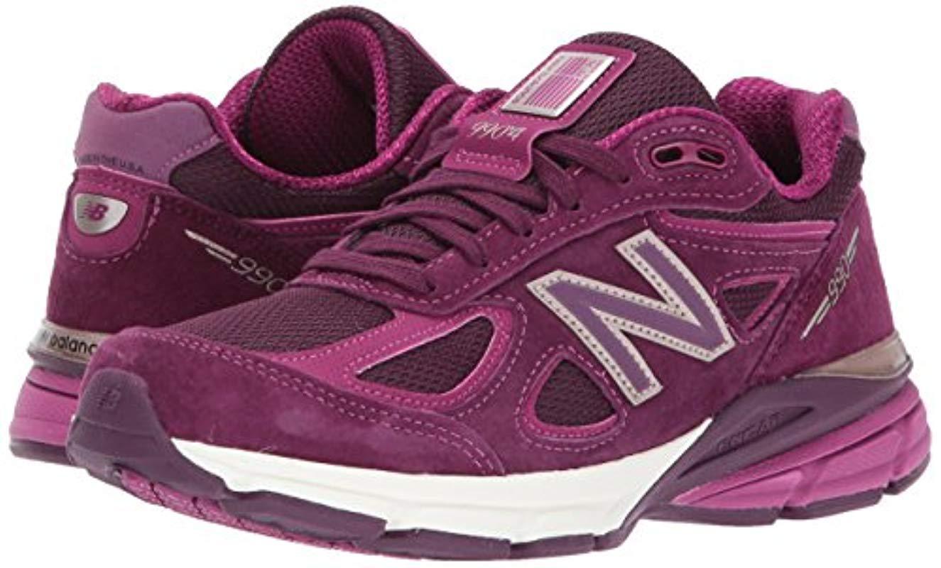 best service 4303d 7eefa Women's Purple 990v4 Running Shoe