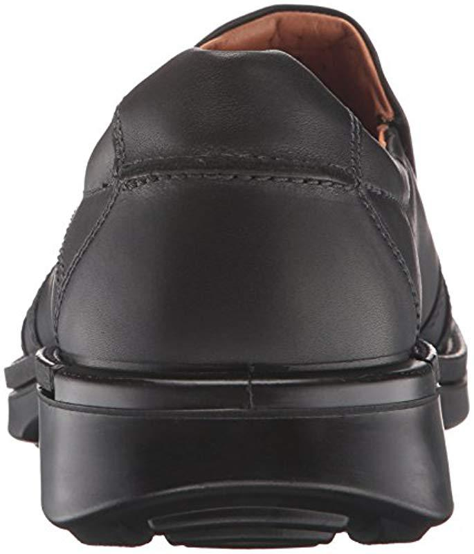 0949c2955f8a Lyst - Ecco Fusion Ii Slip-on (black) Men s Shoes in Black for Men - Save 6%