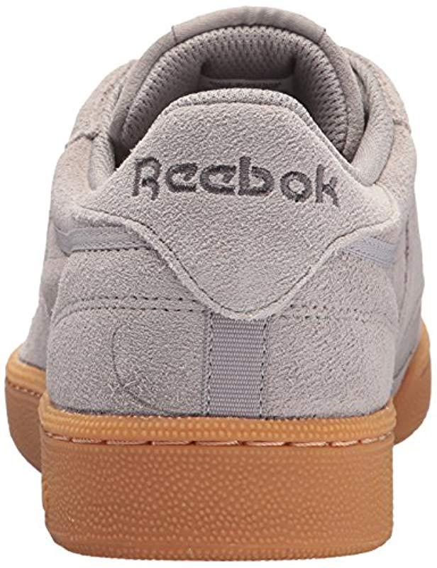 229adcab728f86 Lyst - Reebok Club C 85 Gs Sneaker in Gray for Men - Save 26%